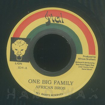 Cover art - African Brothers: One Big Family