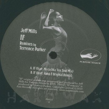Cover art - Jeff Mills: If - Terrence Parker Remixes