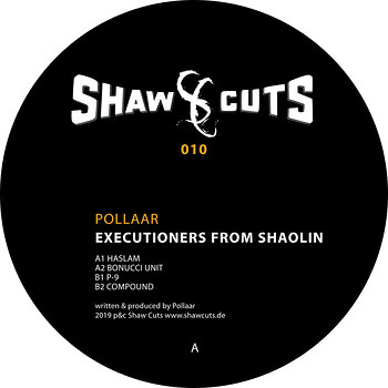 Cover art - Pollaar: Executioners From Shaolin