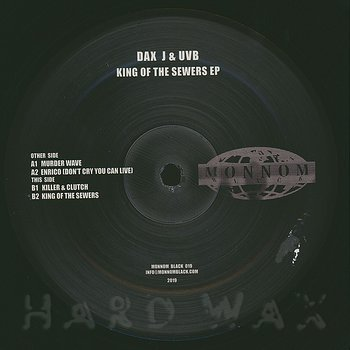 Cover art - Dax J & UVB: King Of The Sewers EP