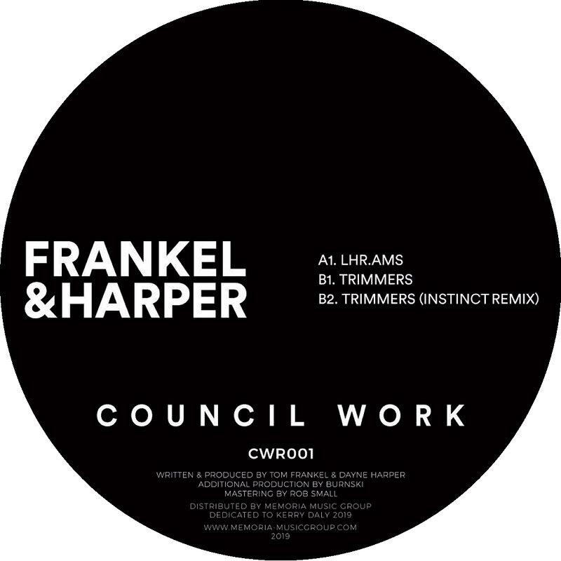 Cover art - Frankel & Harper: Trimmers
