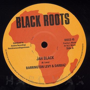 Cover art - Barrington Levy & Darbaz: Jah Black