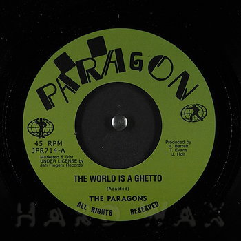 Cover art - The Paragons: The World Is A Ghetto