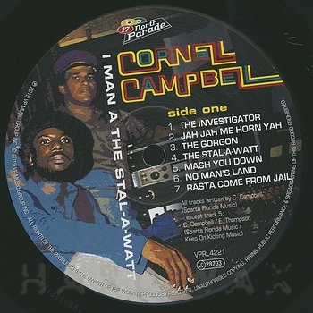 Cover art - Cornell Campbell: I Man A The Stal-A-Wart