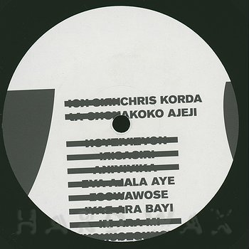 Cover art - Chris Korda: Akoko Ajeji
