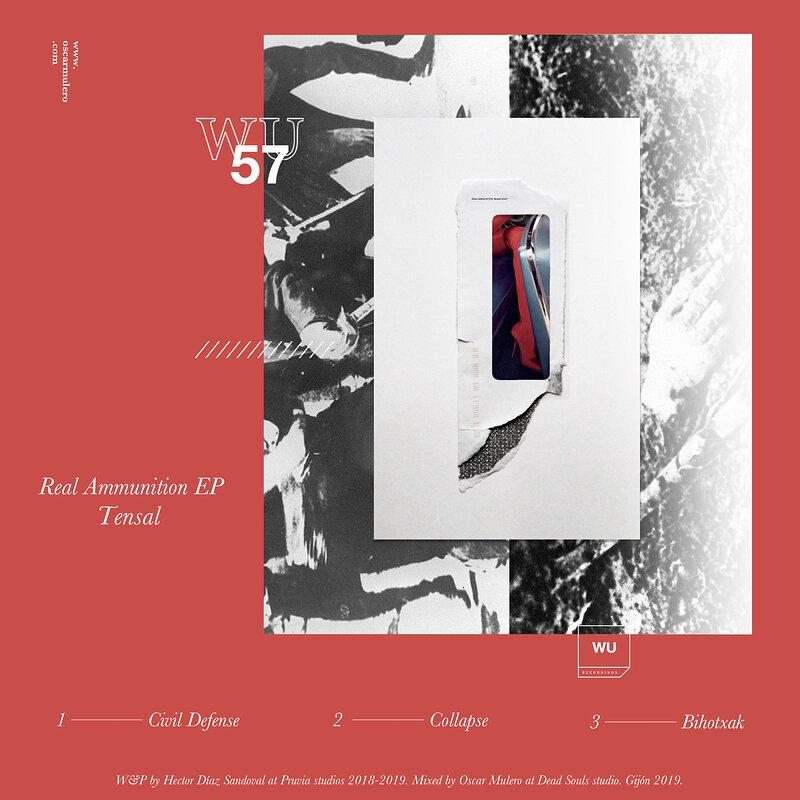 Cover art - Tensal: Real Ammunition EP