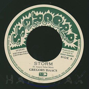 Cover art - Gregory Isaacs: Storm