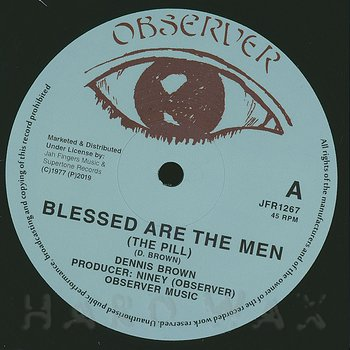 Cover art - Dennis Brown: Blessed Are The Men (The Pill)