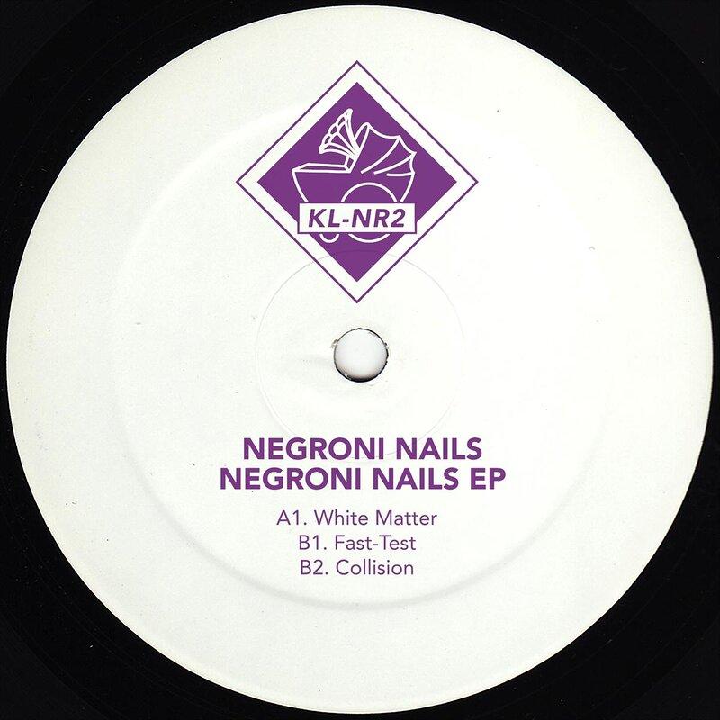 Cover art - Negroni Nails: Negroni Nails EP
