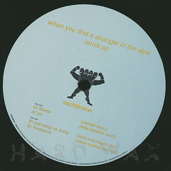 Cover art - Nachtbraker: Wyfasita Remix EP