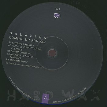 Cover art - Galaxian: Coming Up For Air