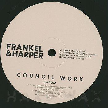 Cover art - Frankel & Harper: Dread