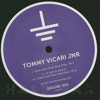 Cover art - Tommy Vicari Jnr.: Over And Over And Over