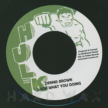 Cover art - Dennis Brown: Look What You Doing