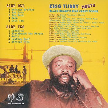 Cover art - King Tubby Meets Black Beard's Ring Craft Posse: Lost Dub From The Vault