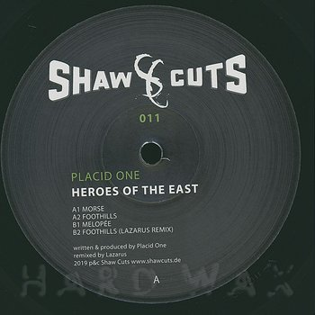 Cover art - Placid One: Heroes Of The East