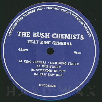 Cover art - The Bush Chemists with King General: Lightning Strike