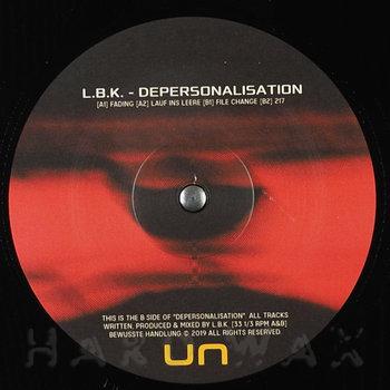 Cover art - L.B.K.: Depersonalisation
