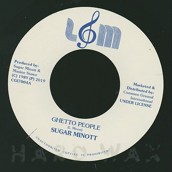 Cover art - Sugar Minott: Ghetto People