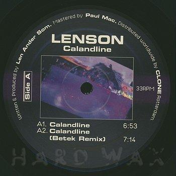 Cover art - Lenson: Calandline