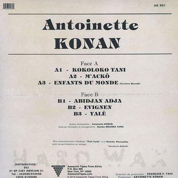 Cover art - Antoinette Konan: Antoinette Konan