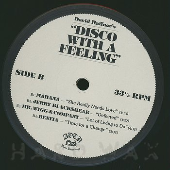 Cover art - Various Artists: Disco With A Feeling