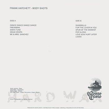 Cover art - Frank Hatchett: Body Shots
