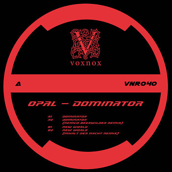 Cover art - Opal: The Dominator