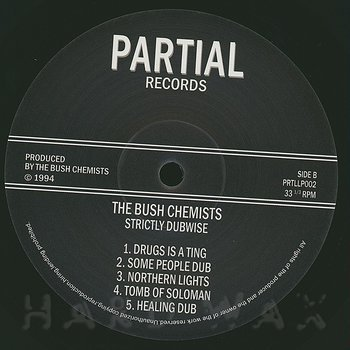 Cover art - The Bush Chemists: Strictly Dubwise