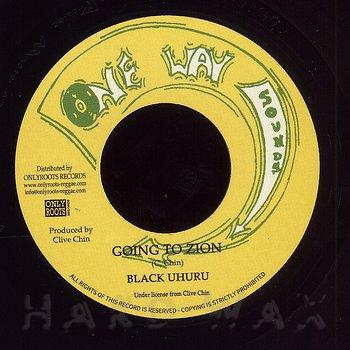 Cover art - Black Uhuru: Going To Zion