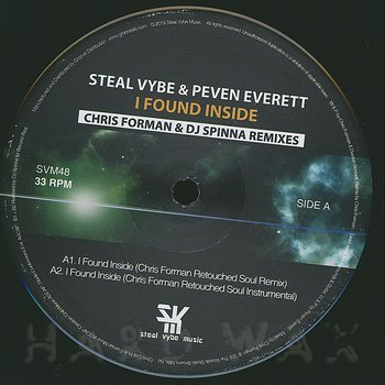 Cover art - Steal Vybe & Peven Everett: I Found Inside