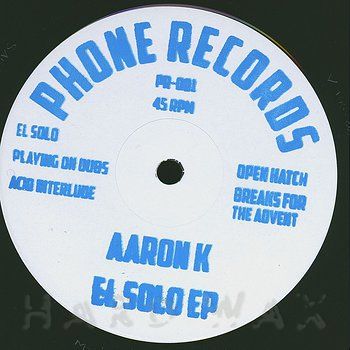 Cover art - Aaron K: El Solo EP