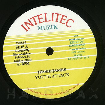 Cover art - Jessie James: Youth Attack