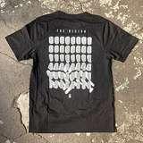 """Cover art - T-Shirt, Size S: """"Tresor Never Sleeps"""", Black"""
