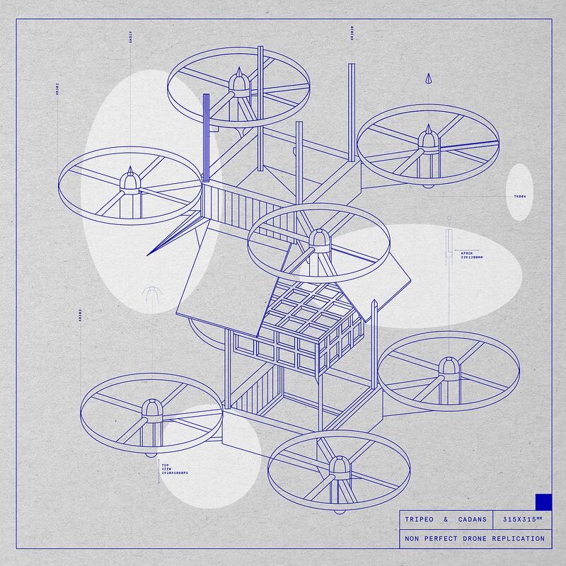 Cover art - Tripeo & Cadans: Non Perfect Drone Replication