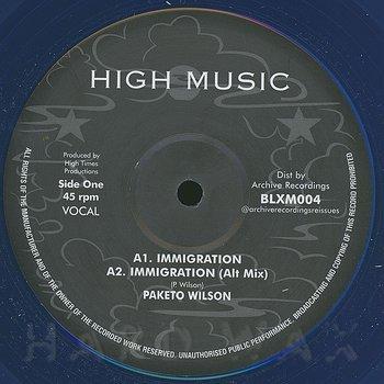 Cover art - Paketo Wilson: Immigration