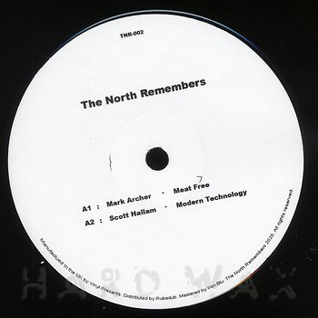Cover art - Mark Archer & Scoot Hallam: The North Remembers 002