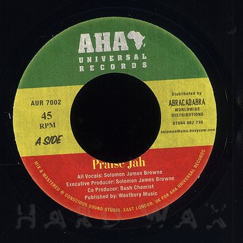 Cover art - Solomon James Browne: Praise Jah