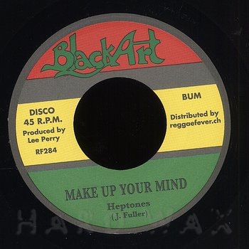 Cover art - The Heptones: Make Up Your Mind