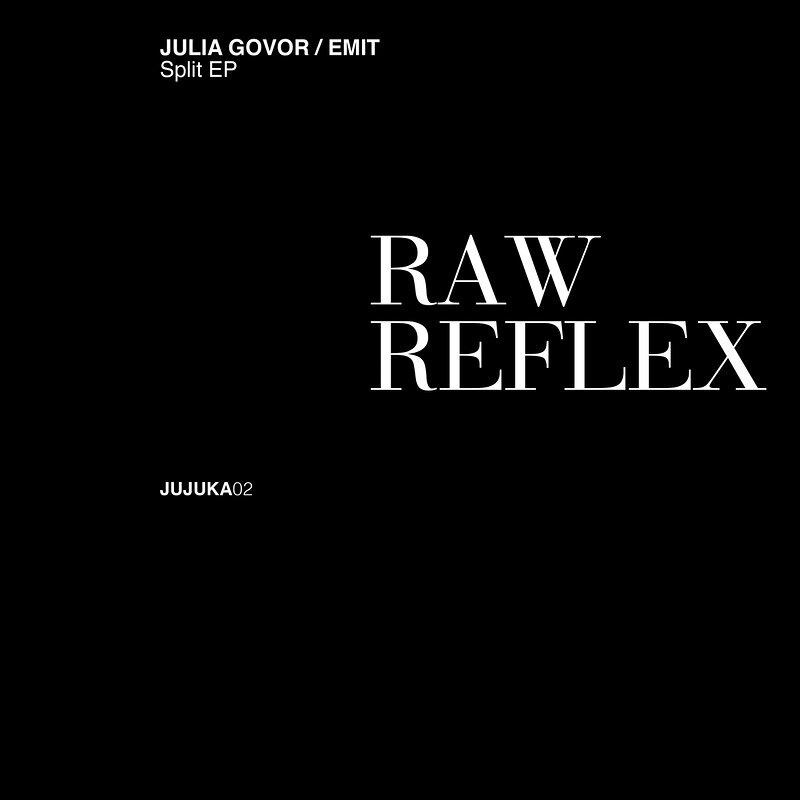 Cover art - Julia Govor / Emit: Raw Reflex