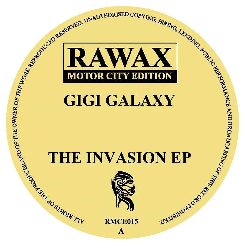 Cover art - Gigi Galaxy: The Invasion