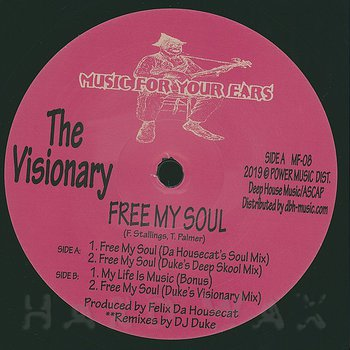 Cover art - The Visionary: Free My Soul