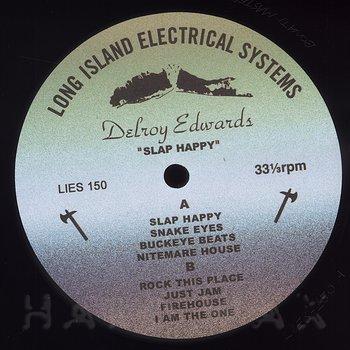 Cover art - Delroy Edwards: Slap Happy