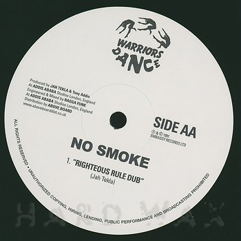 Cover art - No Smoke: Righteous Rule