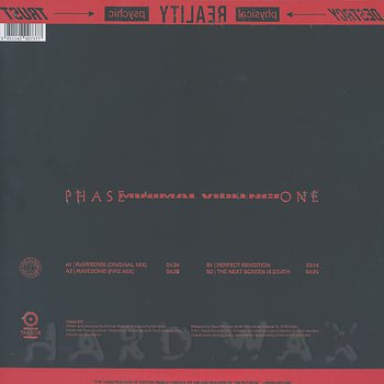 Cover art - Minimal Violence: Phase One