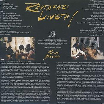 Cover art - Peter Broggs: Rastafari Liveth