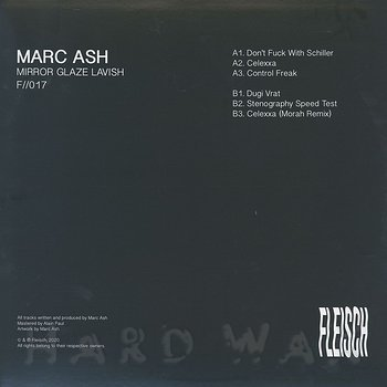 Cover art - Marc Ash: Mirror Glaze Lavish