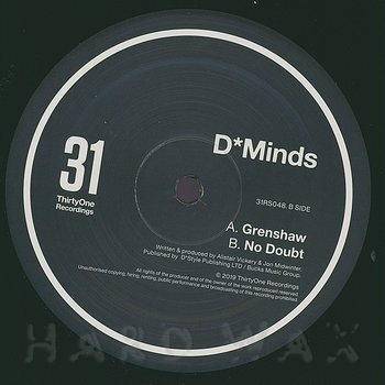 Cover art - D*Minds: Grenshaw