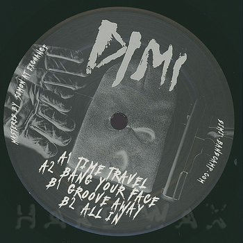 Cover art - Dimi: Just Landed