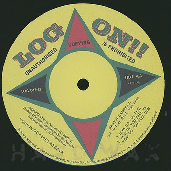 Cover art - Martin Campbell & Hi-Tech Roots Dynamics: I Don't Cry / How Do You Feel